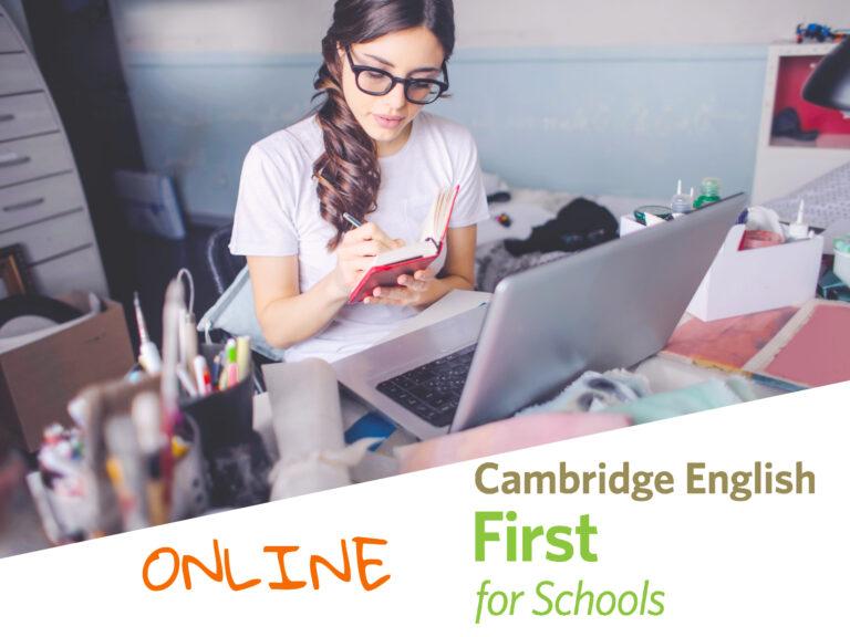 Cursos de Ingles Online Mirandas Academy Cambridge FCE for schools