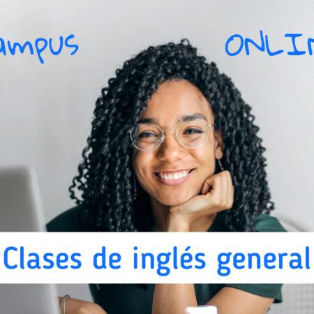 Clases de inglés general Campus Online