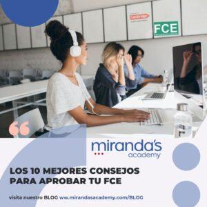 Alumnos de Curso Online FCE en Mirandas Academy