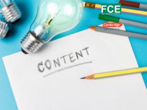 Writing FCE/ B2 examen de Cambrdige