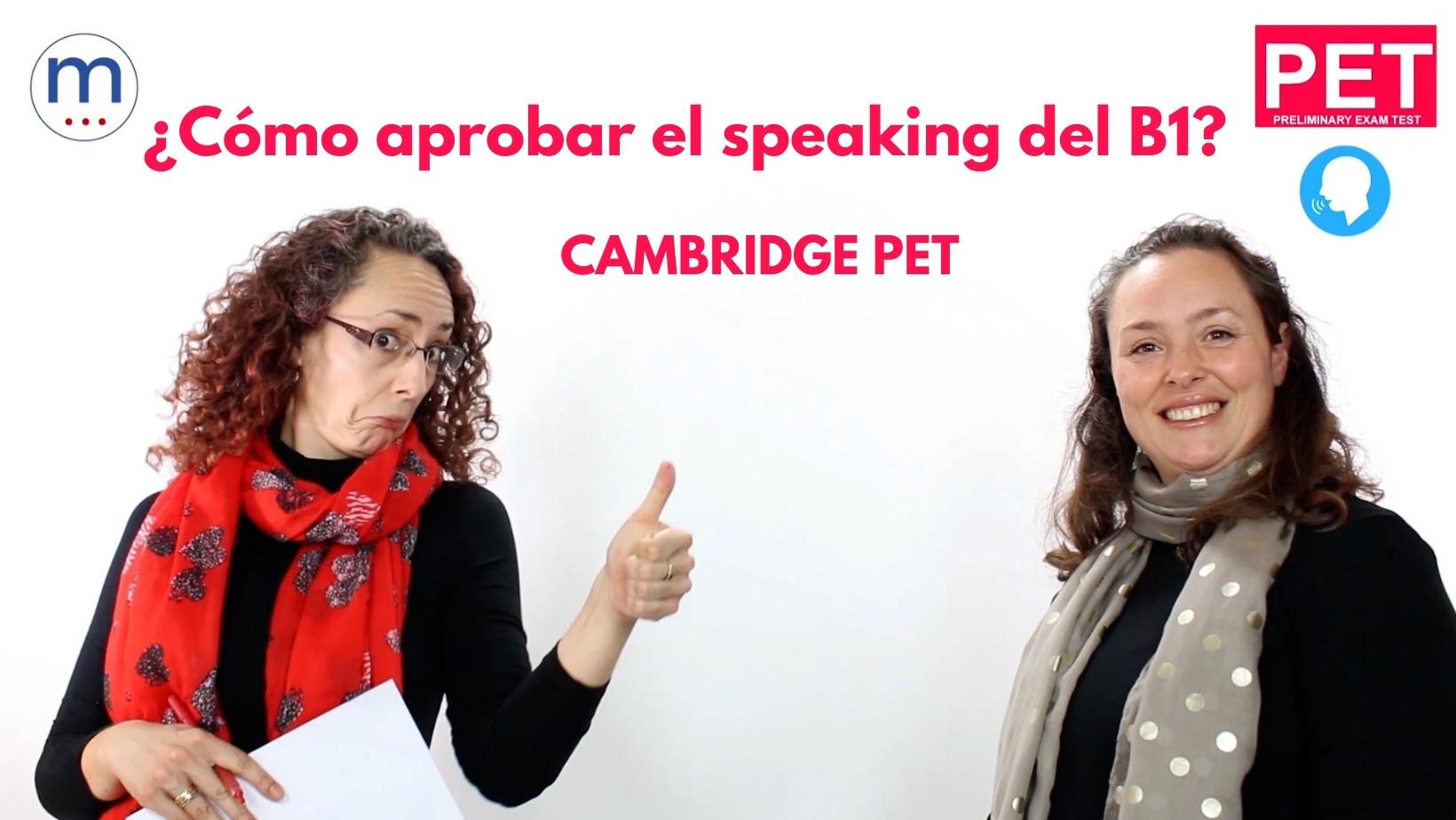 Preparar el speaking del B1 de inglés