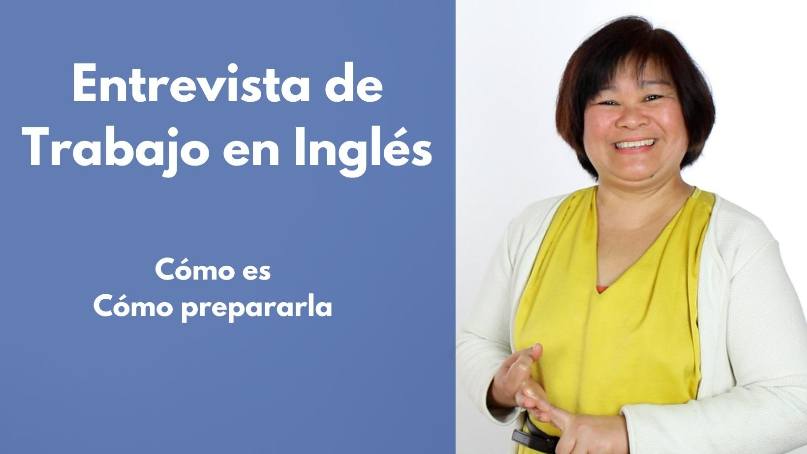 Entrevista de trabajo en ingles